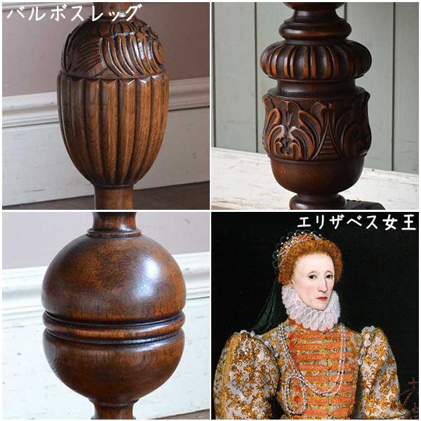 エリザベス様式の家具のデザイン