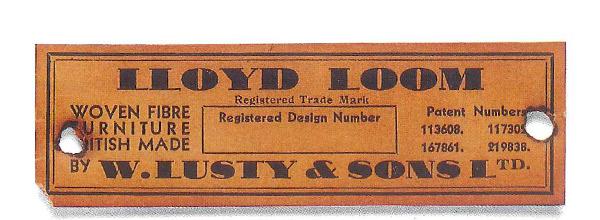ロイドルームの紙タグ(1931年)