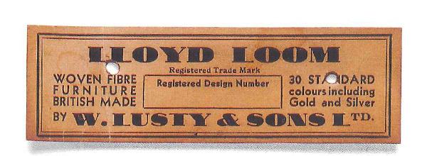 ロイドルームの紙タグ(1932年~1934年)