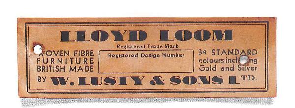ロイドルームの紙タグ(1934年~1937年)