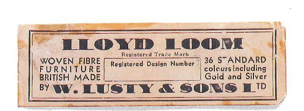 ロイドルームの紙タグ(1937年~1940年)