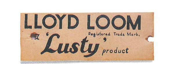 ロイドルームの紙タグ(1950年代)