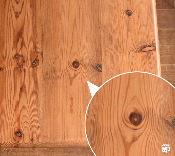 パインの木材