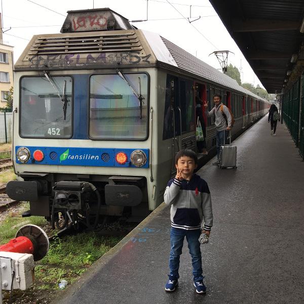 フランスの旅、ヴェルサイユ・リブ・ドロワ(Versailles Rive Droit)駅