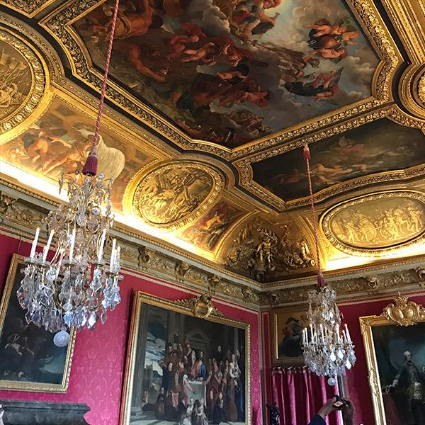 ヴェルサイユ宮殿、マルスの間