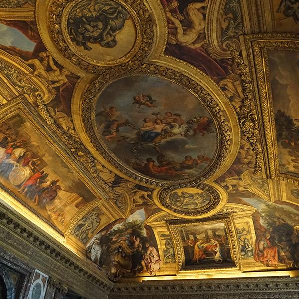 ヴェルサイユ宮殿、ヴィーナスの間、神々と強大国を従わせるヴィーナス