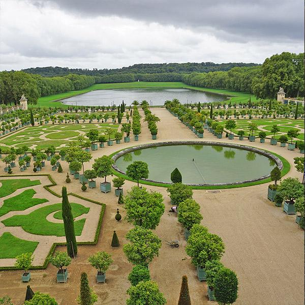 フランスヴェルサイユ宮殿、庭園、オランジュリー