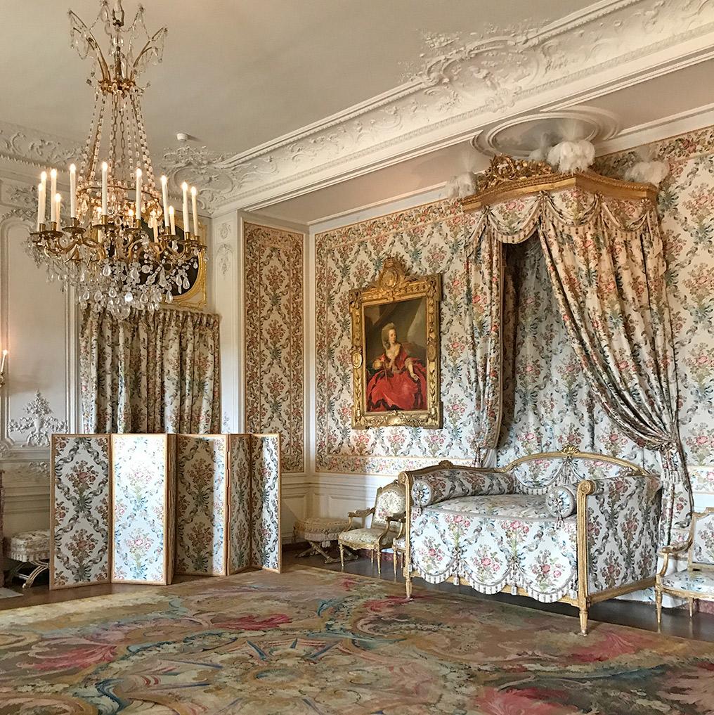 ヴェルサイユ宮殿、アデライド王女の寝室