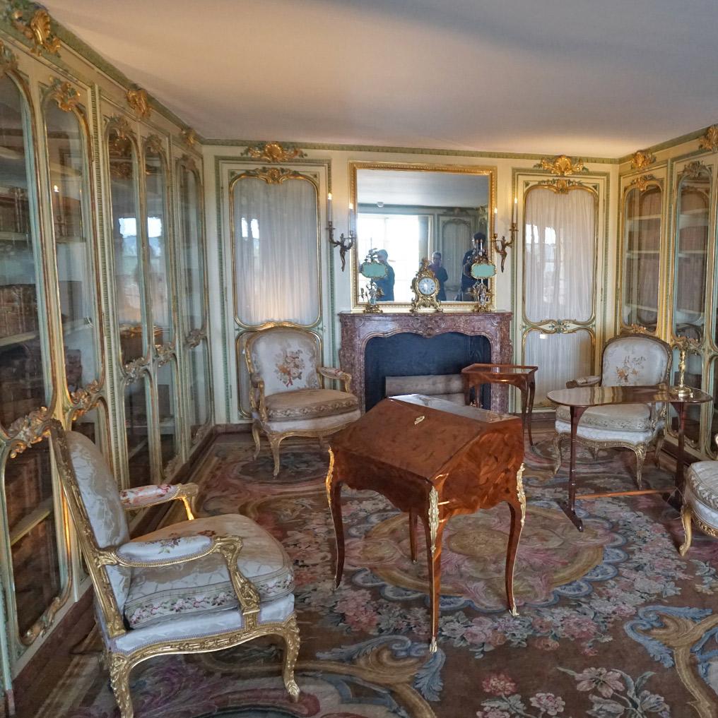 ヴェルサイユ宮殿、マダム・ヴィクトワールの図書の間