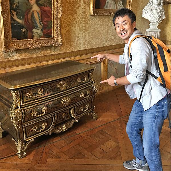 フランスヴェルサイユ宮殿、コモード