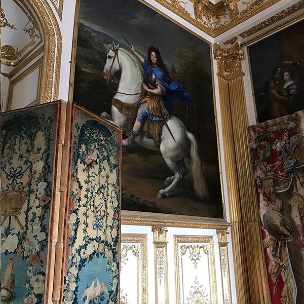 ヴェルサイユ宮殿、牛眼の控えの間