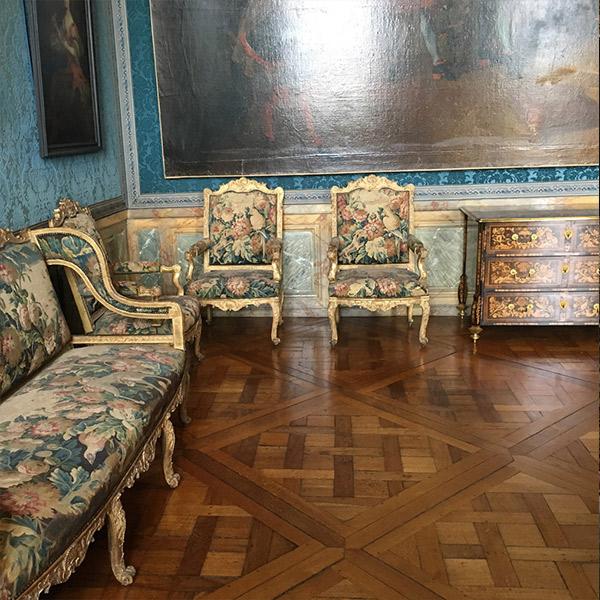 フランスヴェルサイユ宮殿、ヴェルサイユ貼り