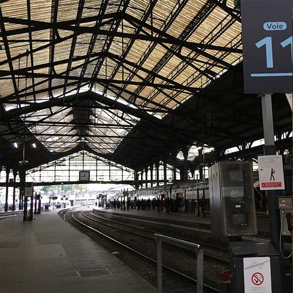 フランス初のターミナル駅「サン・ラザール駅」