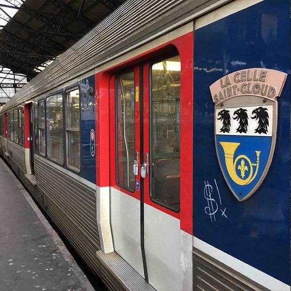 SNCF(フランス国鉄)、サン・ラザール駅まで
