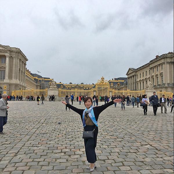 ヴェルサイユ宮殿の正面