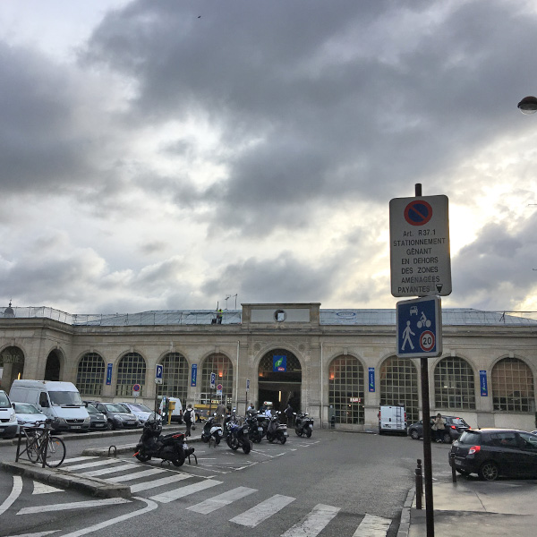 フランスへの買い付けの旅、ヴェルサイユ宮殿