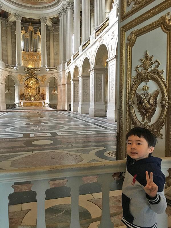 ヴェルサイユ宮殿、王室礼拝堂