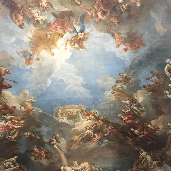 ヴェルサイユ宮殿、ヘラクレスの間、ヘラクレスの神格化