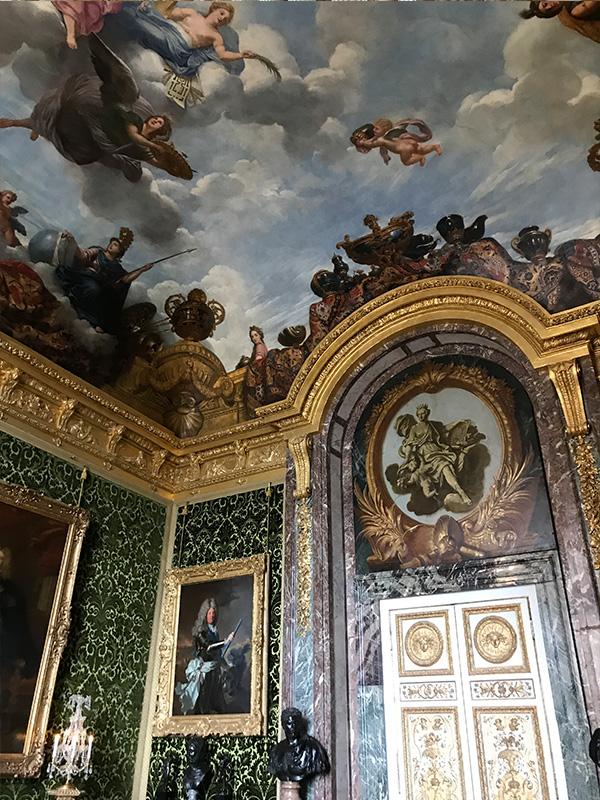 ヴェルサイユ宮殿、豊饒の間