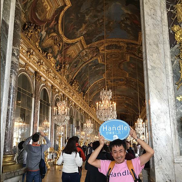 ヴェルサイユ宮殿、鏡の回廊