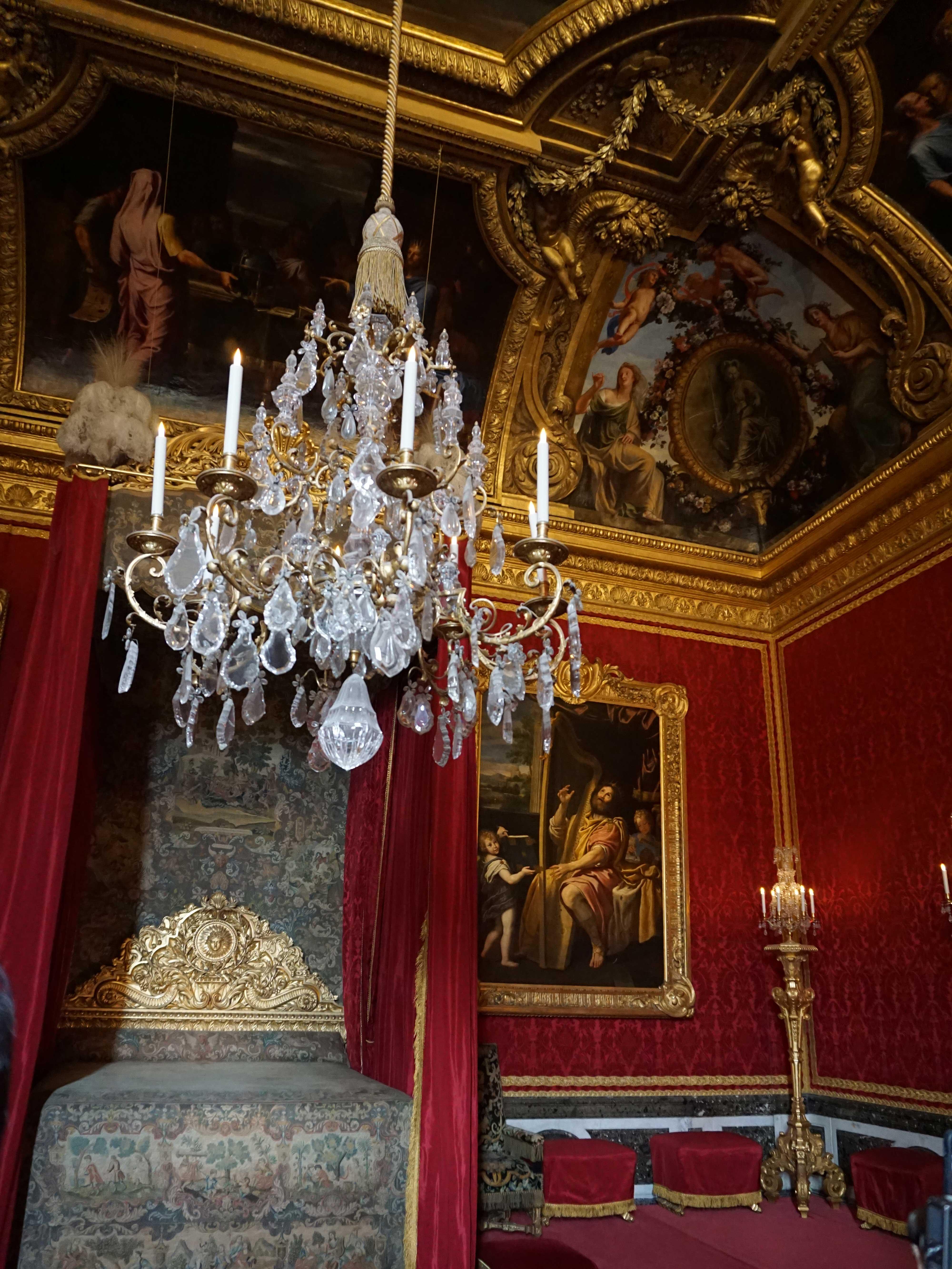 ヴェルサイユ宮殿、メルクリウスの間