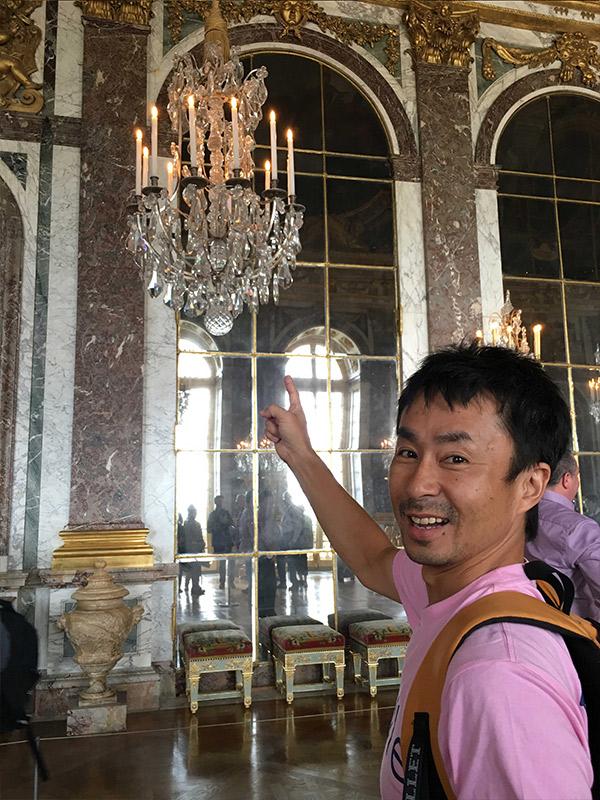 ヴェルサイユ宮殿、鏡の回廊、マリーアントワネットの婚礼舞踏会