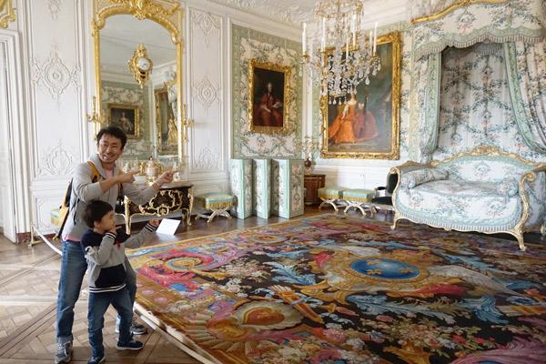 ヴェルサイユ宮殿、ヴィクトワール女王の寝室