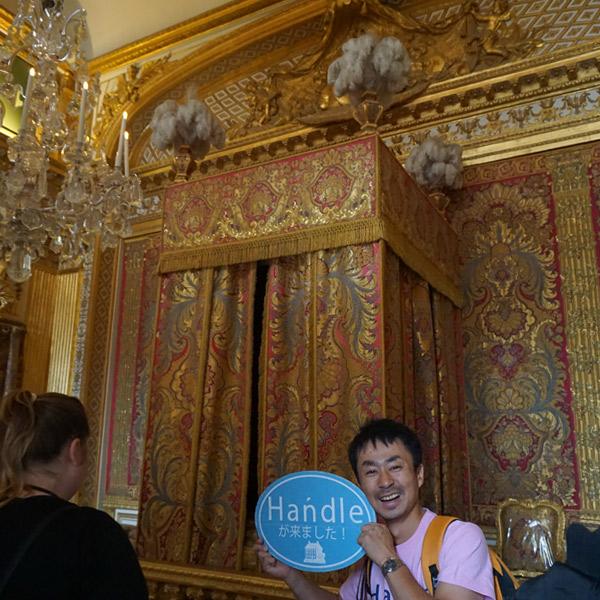 ヴェルサイユ宮殿、王の寝室