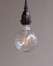 LED電球 シャンデリア球/ローソク型(E26口金・500lm)