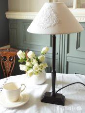 フランスの照明、コントワール・ドゥ・ファミーユのおしゃれなテーブルランプ(E26球付)