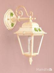 アンティーク調のおしゃれな外灯、イタリアから届いたエクステリアランプ(電球なし)