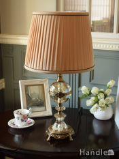 アンティーク調のフランス風おしゃれなテーブルランプ (電球セット)