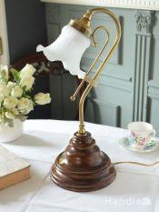 イタリアから届いたおしゃれなテーブルランプ、アンティーク風の照明器具(E17電球付)