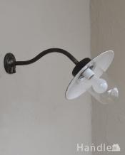 アンティークウォールデッキランプ、ポーチライト(外灯)(E26球付)