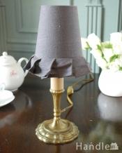 電球に被せるだけでグーンとお洒落になるフランスの布シェード (コクシグル)