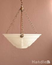 小さなバラのモチーフが美しいハンギングボウル(E17シャンデリア球1灯付)