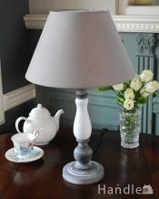 アンティーク風のおしゃれ照明、2トーンカラーのテーブルランプ(電球なし)