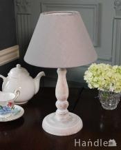 アンティーク風のおしゃれ照明、フレンチシャビーなテーブルランプ(電球なし)