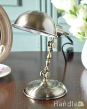 アンティーク調のデスクランプ、カッコいいスチール製のデスクライト (電球セット)