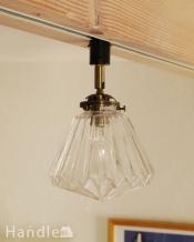 折り紙細工のような天井付け照明(ダクトレール専用スポットライト)(電球なし)