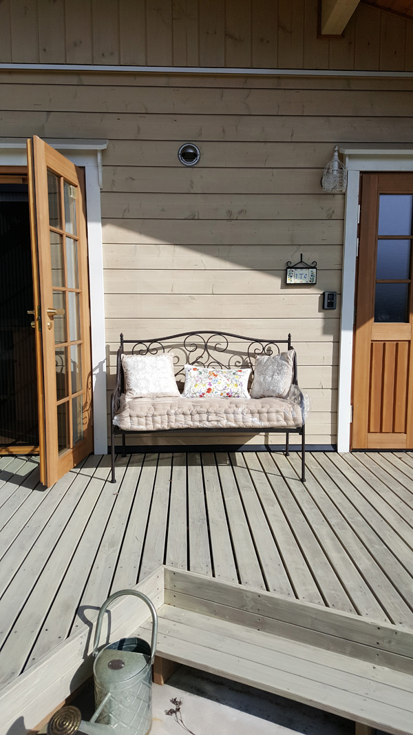 コントワールドゥファミーユのソファ