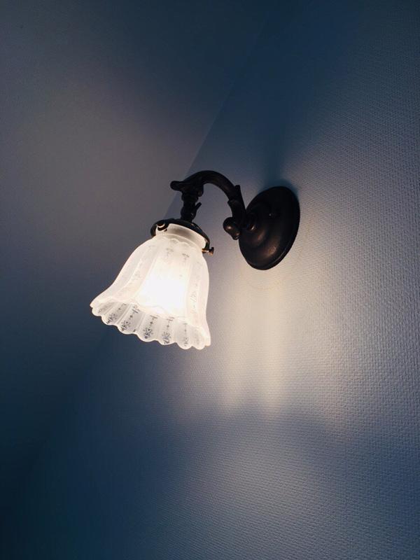 壁ん付け照明