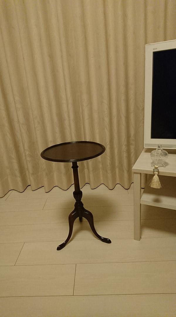 アンティークサイドテーブル