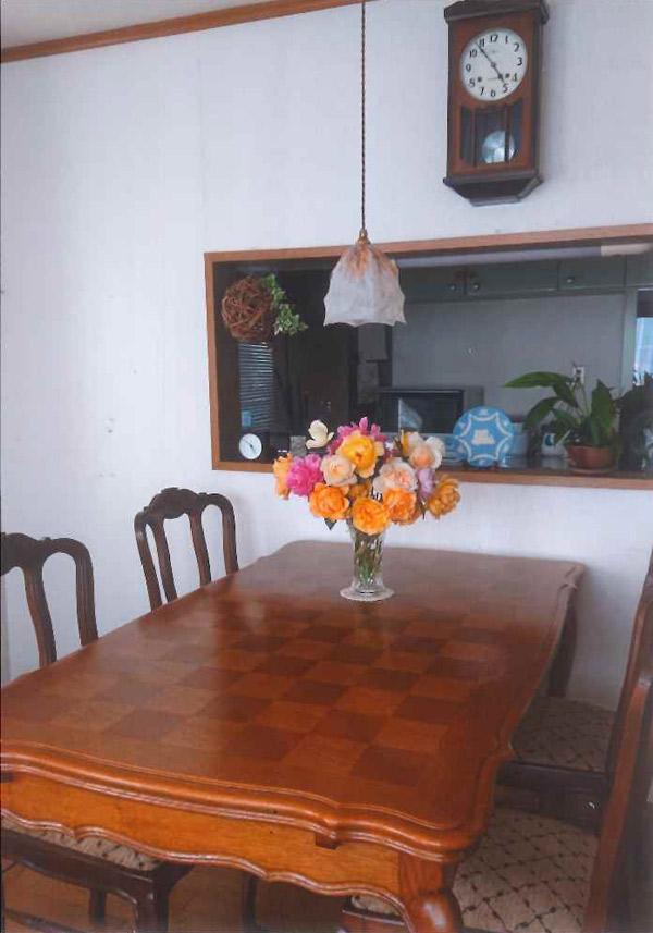 北海道Hさまのドローリーテーブル