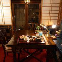 大阪府Mさまのアンティークテーブル