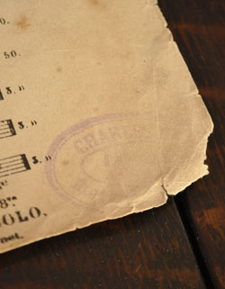 m-997-z アンティークの楽譜