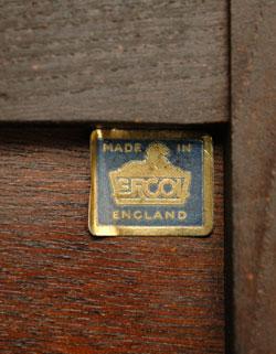 z-003-f アンティークアーコールカップボード(シェルフ)のタグ