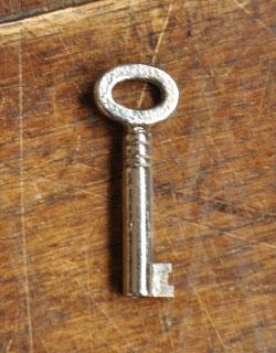 k-705-f アンティークガラスキャビネットの鍵