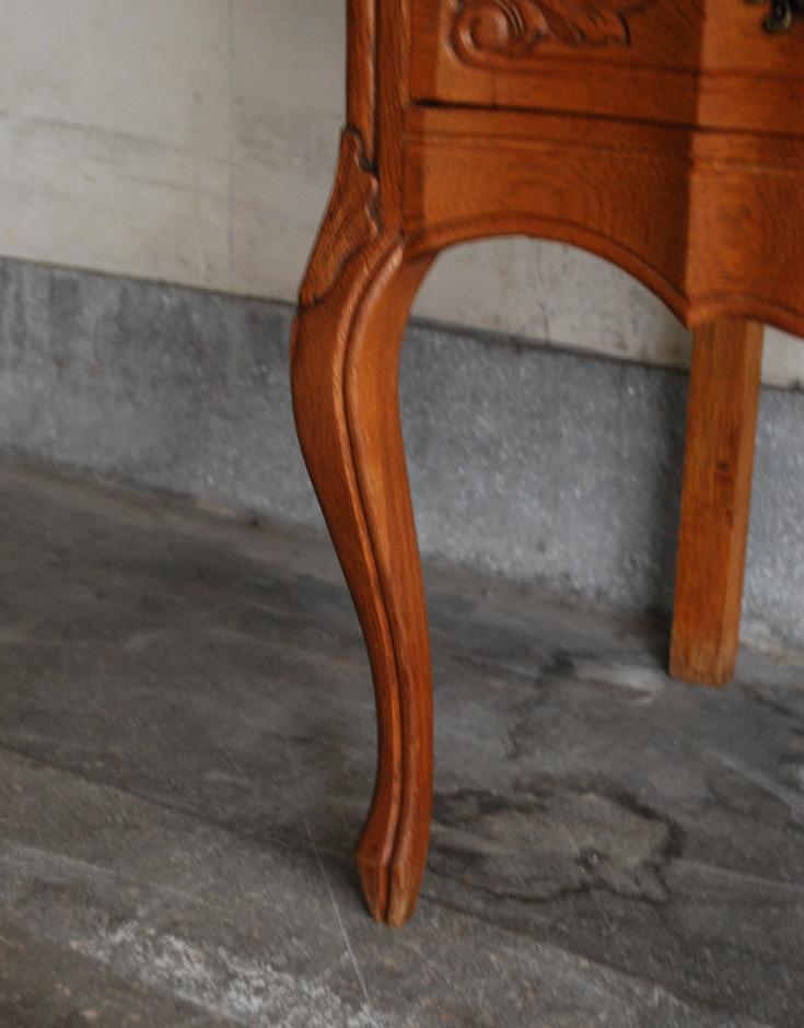南フランスの華やかなアンティーク家具、幅広の2段チェスト(j-1223-f)|アンティーク家具SOLDOUT