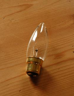 k-1666-f アンティークフロアランプの電球